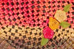 Fleur en osier Photographie stock libre de droits