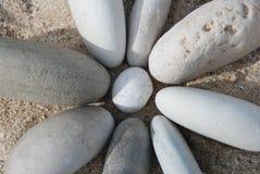 Fleur en pierre Photo libre de droits