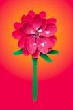 Fleur en plastique Images libres de droits