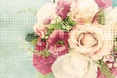 Fleur en plastique Photos libres de droits