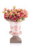 Fleur en plastique pour la décoration photo libre de droits