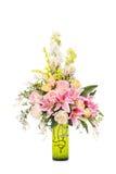 Fleur en plastique pour la décoration photos stock