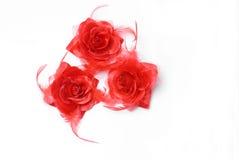 Fleur en soie Photo libre de droits