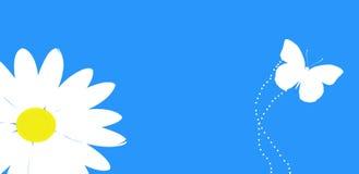 Fleur et guindineau Photos libres de droits