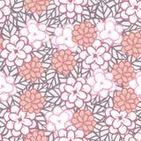 Fleur et lame graphiques Image stock