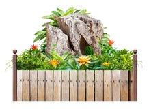 Fleur et plante pour la décoration d'isolement Images stock