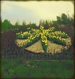 Fleur faite de tulipes Images stock