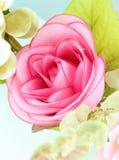 Fleur de rose de rose de tissu Image stock