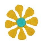 Fleur faite maison avec le chemin Photo stock