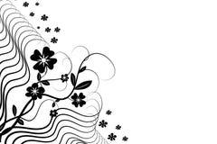 Fleur florale Image libre de droits