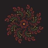 Fleur futuriste de fractale Images stock