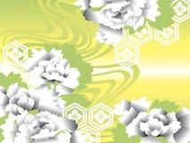 Fleur japonaise de fleur Image libre de droits