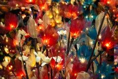 Fleur légère Images stock