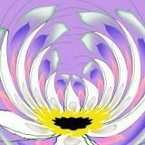 Fleur lilas illustration libre de droits