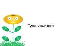 Fleur Logo Design Illustration de Vecteur