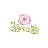 Fleur Logo Template Images libres de droits