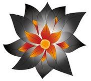 Fleur magique de vecteur Photo stock