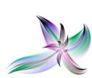 Fleur multicolore de fractale Photo libre de droits