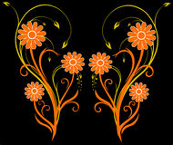 Fleur orientale illustration stock