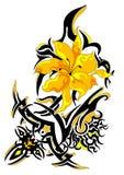 Fleur ornementale photographie stock
