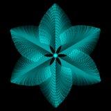 Fleur plumeuse Photos libres de droits