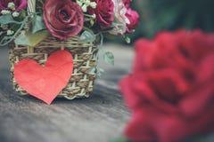 Fleur pour l'amour Photographie stock libre de droits