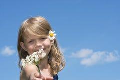 Fleur pour vous ! Photos stock