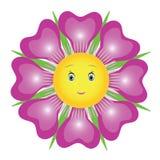 Fleur pourprée illustration stock