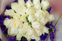 Fleur rose de jour du ` s de Valentine Photo libre de droits