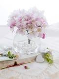 Fleur rose de pomme Images stock