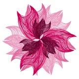 Fleur rose lumineuse Photos libres de droits