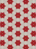 Fleur rouge de graphiques de fond Photo libre de droits