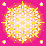 Fleur sacrée de la géométrie de durée Image stock