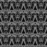 Fleur sans couture antique de perroquet d'oiseau d'animal du fond 430 Illustration de Vecteur
