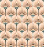 Fleur sans couture Lily Pattern Photographie stock
