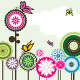 Fleur sans joint 2 de Paisley d'amour de guindineau Images stock