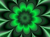 Fleur sombre illustration de vecteur