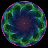 Fleur spiralée illustration libre de droits