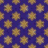 Fleur stylisée jaune sans couture. Image stock