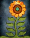 Fleur texturisée Photos libres de droits