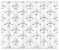 Fleur white background Royalty Free Stock Images