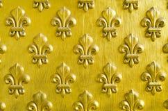 Fleur wzór De Lis Obrazy Royalty Free