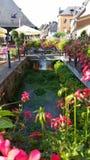 Fleurie канала Стоковые Изображения