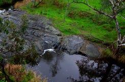 Fleurieu冰川岩石 库存照片