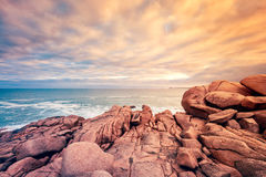 Fleurieu Peninsula landscape, South Australia. Fleurieu Peninsula landscape view from Horseshoe bay, South Australia royalty free stock images