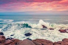 Fleurieu Peninsula seascape, South Australia Royalty Free Stock Image
