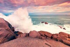 Fleurieu Peninsula seascape, South Australia. Fleurieu Peninsula seascape view from Horseshoe bay, South Australia stock photo