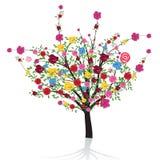 Fleurissez l'arbre Image stock