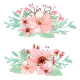 Fleurissez la décoration Photo libre de droits