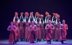 """Fleurissez le  de shelter†de dance""""No du ` s de fille-Huang Mingliang Image stock"""